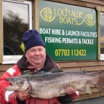 Ferrox caught from Loch Awe Boats