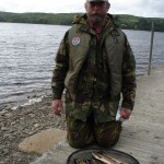 Brown trout caught Loch Awe
