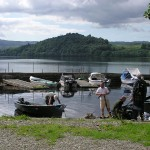 Getting ready for fishing  Loch Awe Boats Ardbrecknish